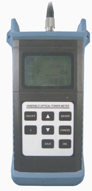 Optical Ports For Meters : Fiber optic optical power meter light source
